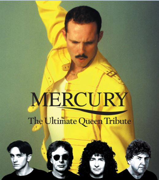 Queen tribute act Mercury